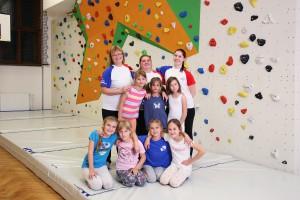 Žákyně a cvičitelky 2015